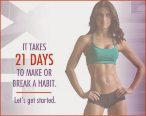 21 day fix it takes 21 day to make or break a habit