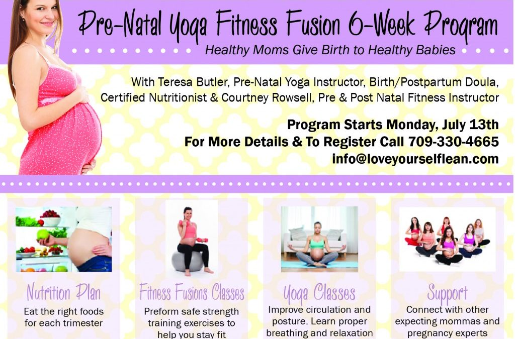 Blissful Bump – 6 Week Prenatal Yoga Fusion & Wellness Program