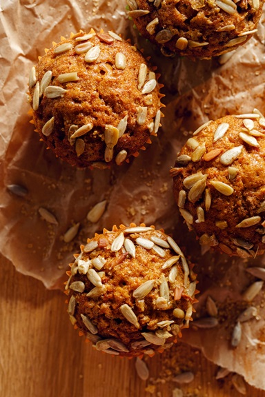 Mackenzie's Carrot Apple Muffin