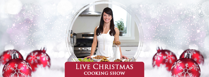 Love Yourself Lean - Christmas Cooking Show  - Facebook Cover