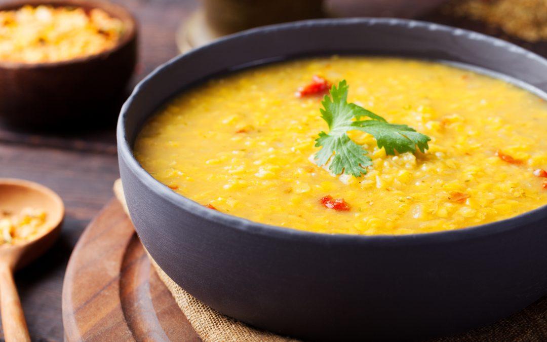 Turmeric Lentil Soup