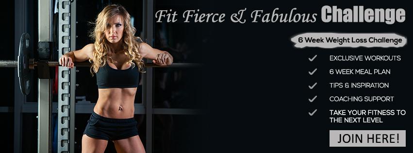 Fit, Fierce & Fabulous Fall Challenge
