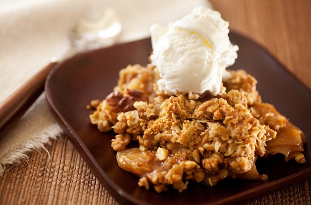 The Ultimate Healthy Apple Crumble