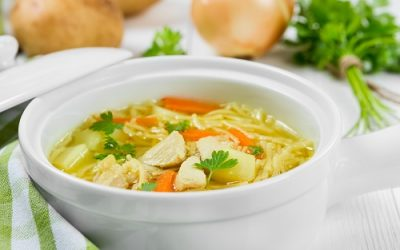 Home-style Chicken Noodle Soup