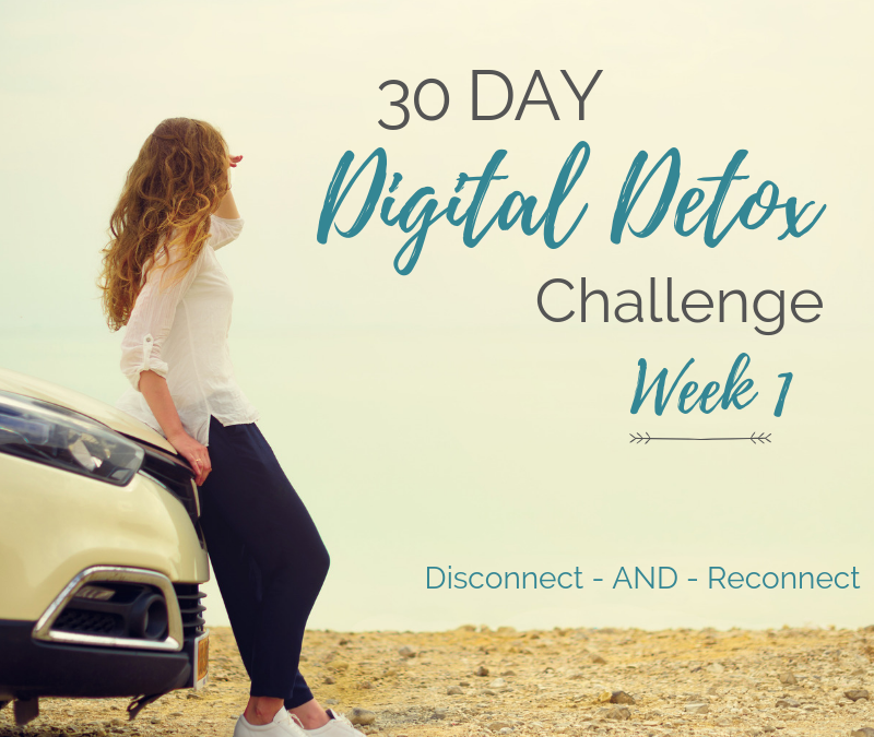 30-Day Digital Detox Challenge (Day 1-7)