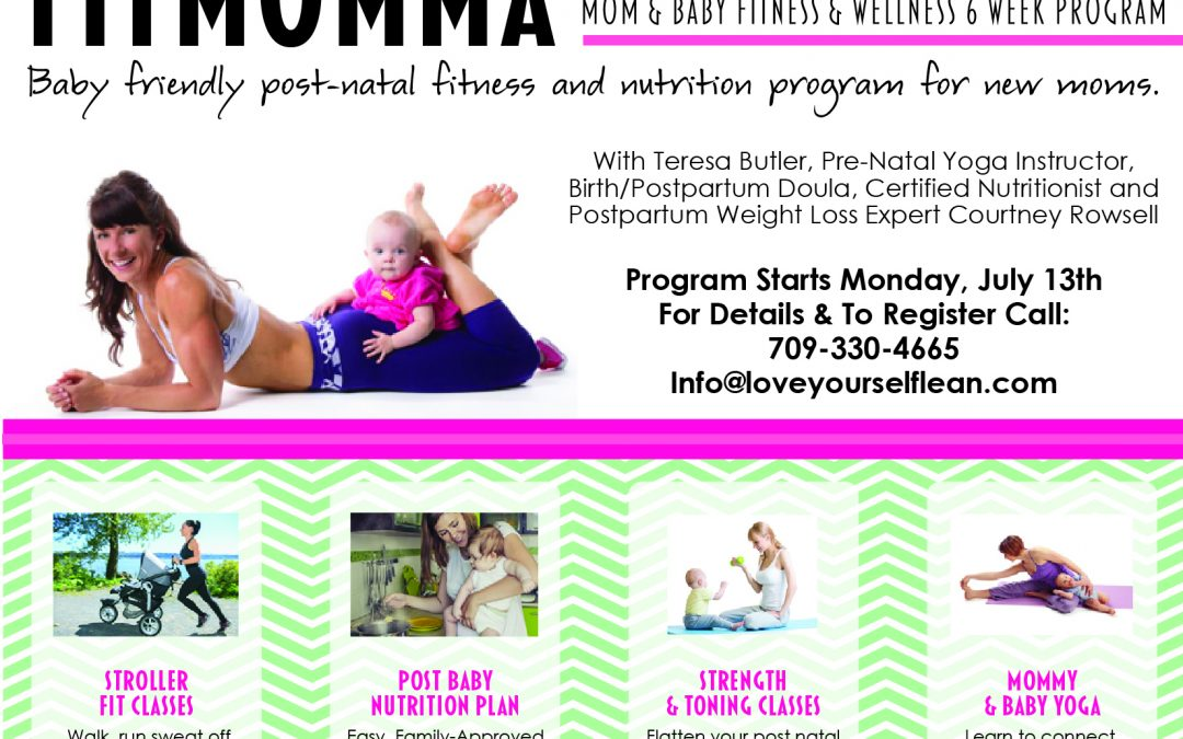 Fit Momma – 6 Week Mom & Baby Fitness & Wellness Program